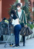 Camila Cabello and Shawn Mendes seen picking up a few essentials at Erewhon Market in Los Angeles