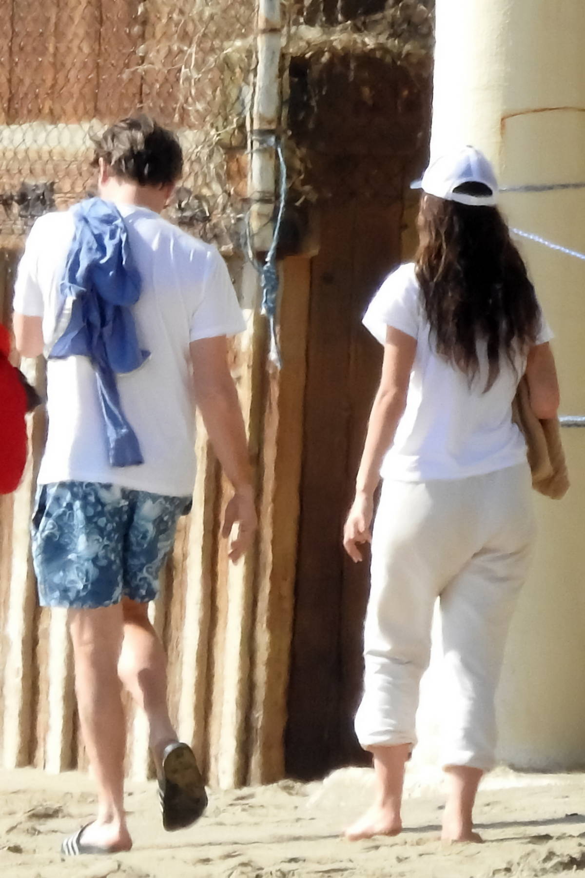 Camila Morrone and Leonardo DiCaprio step out to grab breakfast in Malibu, California