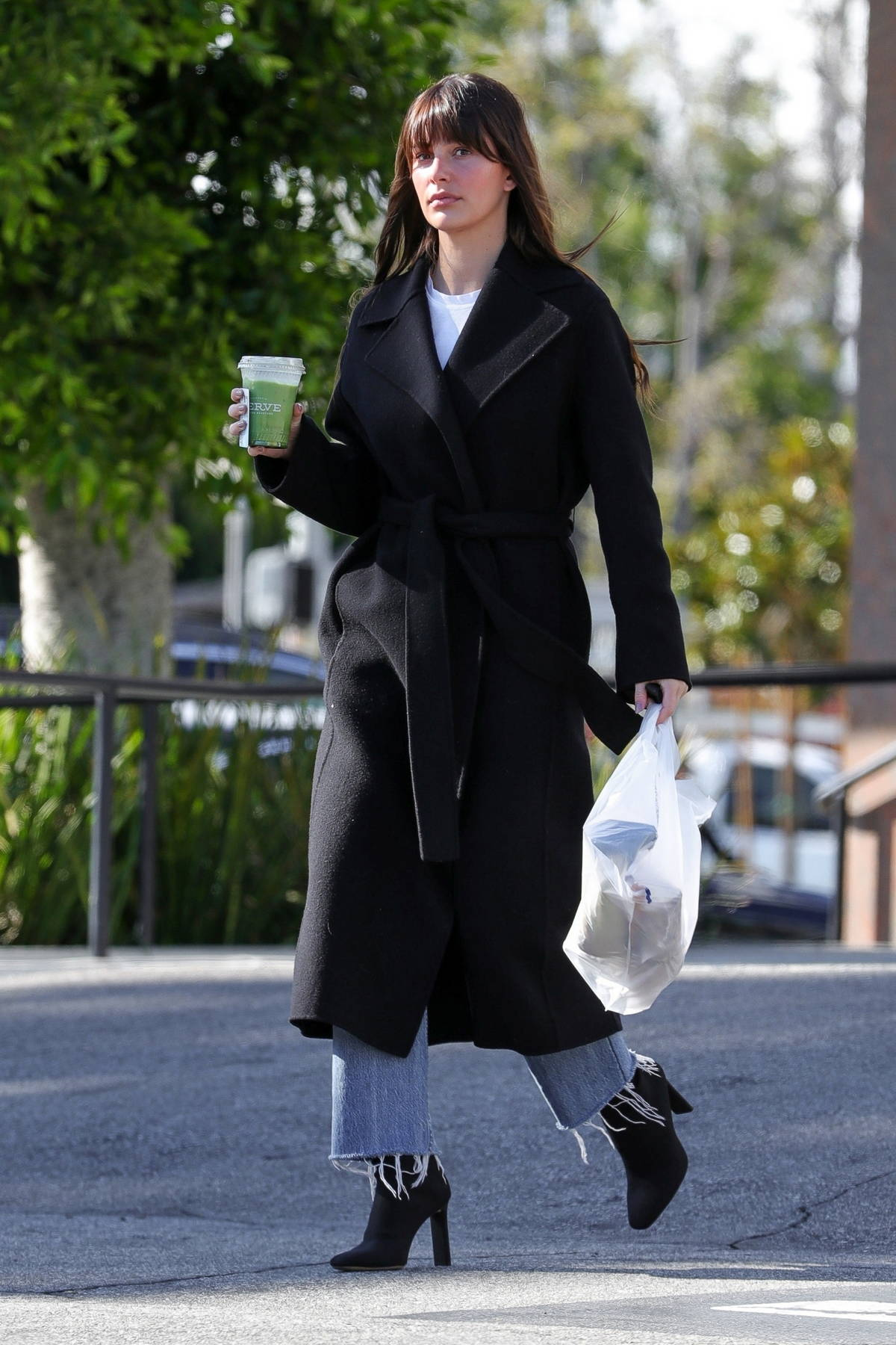 Camila Morrone looks flawless as steps out for a Matcha tea in Los Angeles