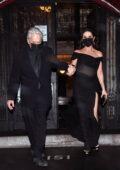 Catherine Zeta-Jones and Michael Douglas seen leaving their apartment in New York City