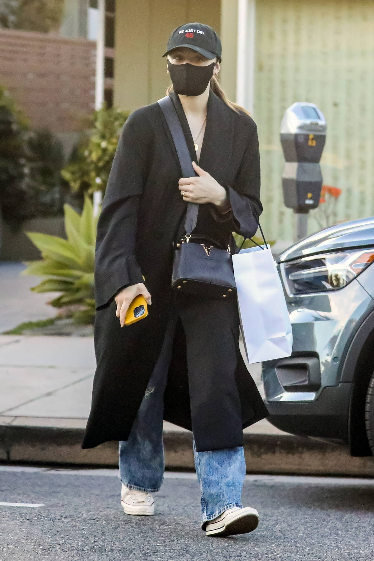 Chloe Grace Moretz goes incognito while out shopping in Pacific Palisades, California