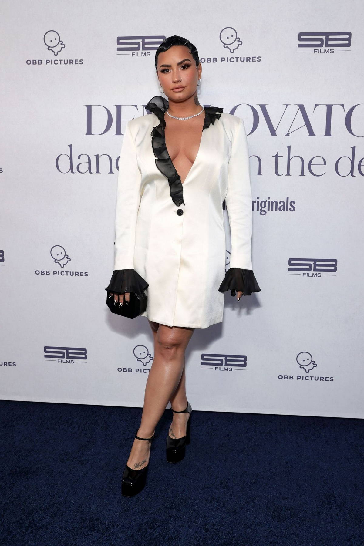 Demi Lovato attends the Premiere Event for her new YouTube Originals Docuseries in Beverly Hills, California