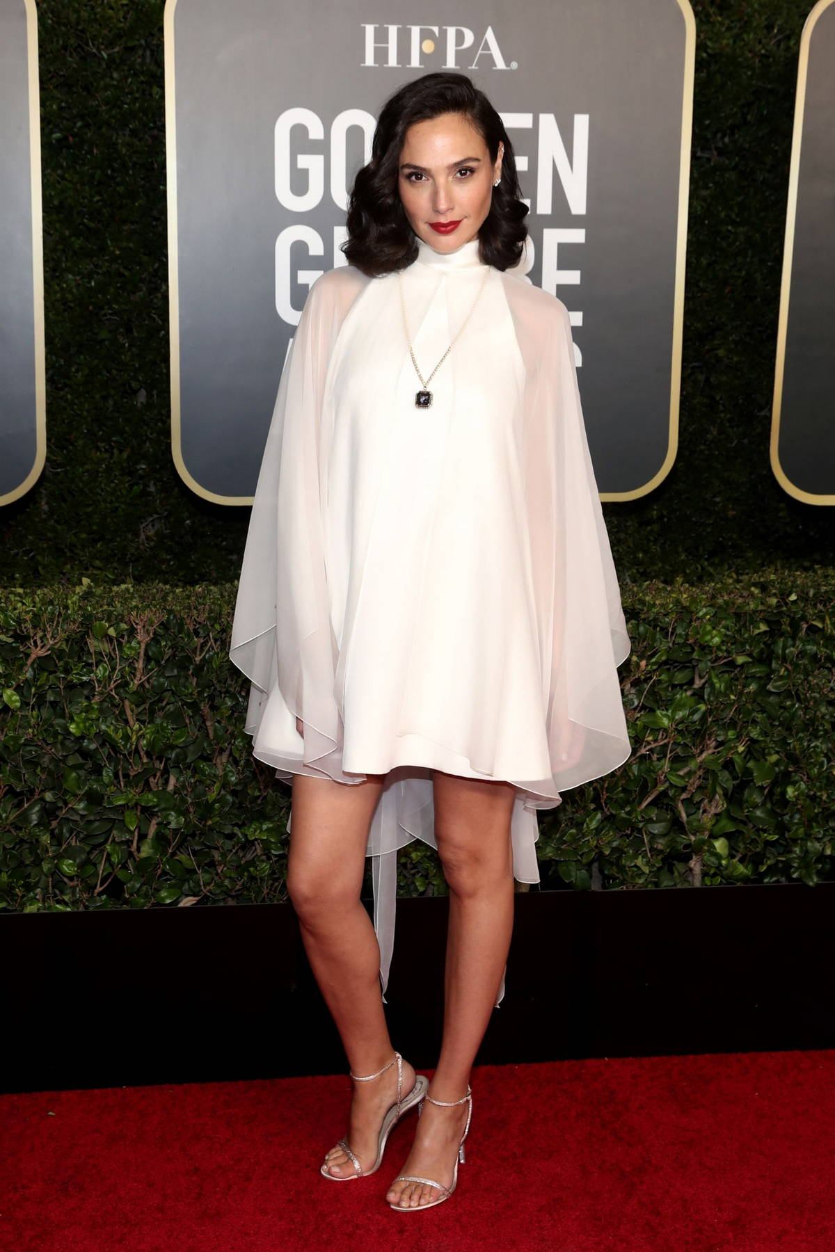 Gal Gadot attends the 78th Annual Golden Globe Awards at The Beverly Hilton in Beverly Hills, California