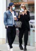 Heidi Klum and husband Tom Kaulitz step out for some shopping in Malibu, California