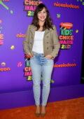 Jennifer Garner attends Nickelodeon's Kids' Choice Awards 2021 at Barker Hangar in Santa Monica, California
