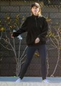 Katherine Schwarzenegger spotted during her morning tennis practice in Santa Monica, California
