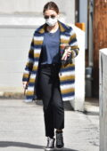 Lucy Hale keeps it casual as she makes a morning coffee run in Los Angeles