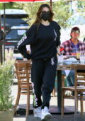 Madison Beer keeps cozy in her sweats while grabbing lunch with boyfriend Nick Austin in Los Angeles