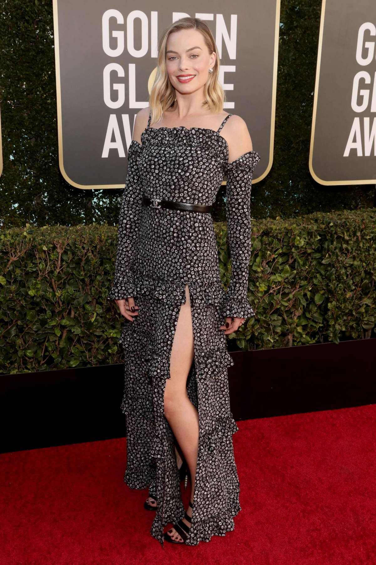 Margot Robbie attends the 78th Annual Golden Globe Awards at The Beverly Hilton in Beverly Hills, California