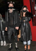 Megan Fox and Machine Gun Kelly enjoy a date night at BOA Steakhouse in Los Angeles