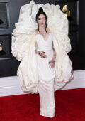 Noah Cyrus attends the 63rd Annual GRAMMY Awards at the STAPLES Center in Los Angeles