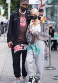 Pia Mia and boyfriend Tyla Yaweh step out holding hands while shopping on Melrose in West Hollywood, California