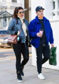 Priyanka Chopra and Nick Jonas step out for a walk with a friend in Notting Hill, London, UK