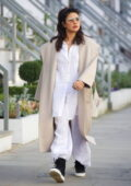 Priyanka Chopra looks casual chic in her white outfit as she steps out in London, UK