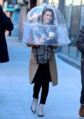 Rachel Brosnahan seen on the set of 'The Marvelous Mrs Maisel' in Manhattan, New York City