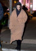 Selena Gomez stays cozy in a warm jacket and hoodie while heading to the set of 'Only Murders in the Building' in New York City