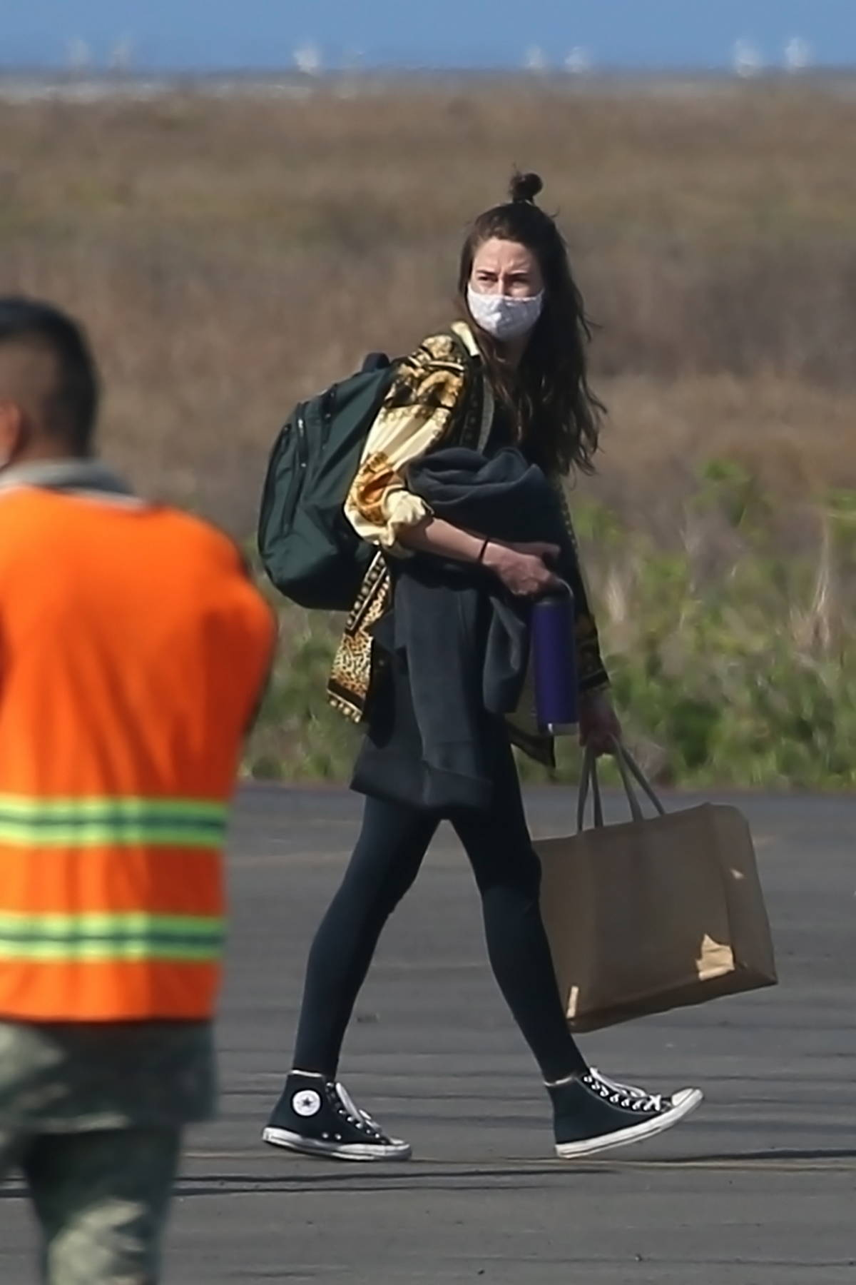 Shailene Woodley and Aaron Rodgers spotted for the first time since their engagement as they depart Costa Careyes, Mexico