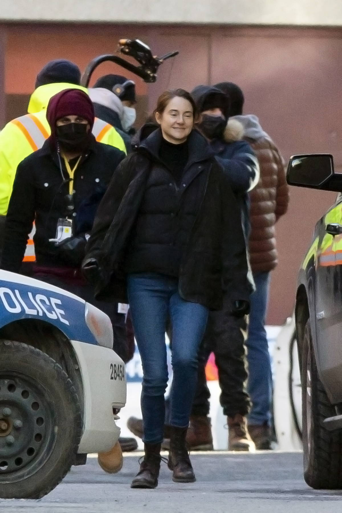 Shailene Woodley spotted on the set of her new movie 'Misanthrope' in Montreal, Canada