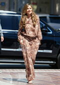 Sofia Vergara looks fab in animal print as she arrives for 'America's Got Talent' taping in Los Angeles