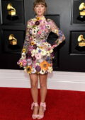 Taylor Swift attends the 63rd Annual GRAMMY Awards at the STAPLES Center in Los Angeles
