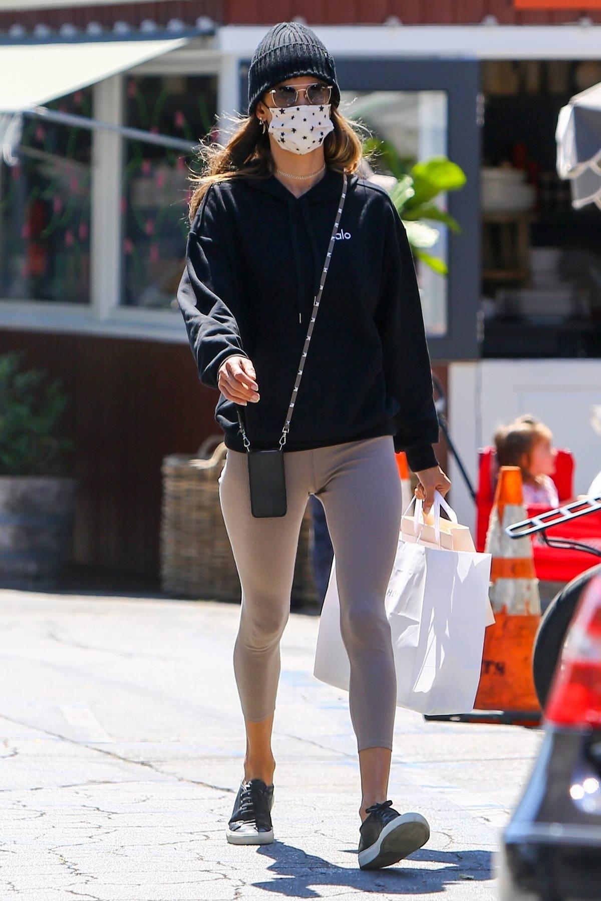 Bella Hadid - seen leaving her hotel in Milan, Italy