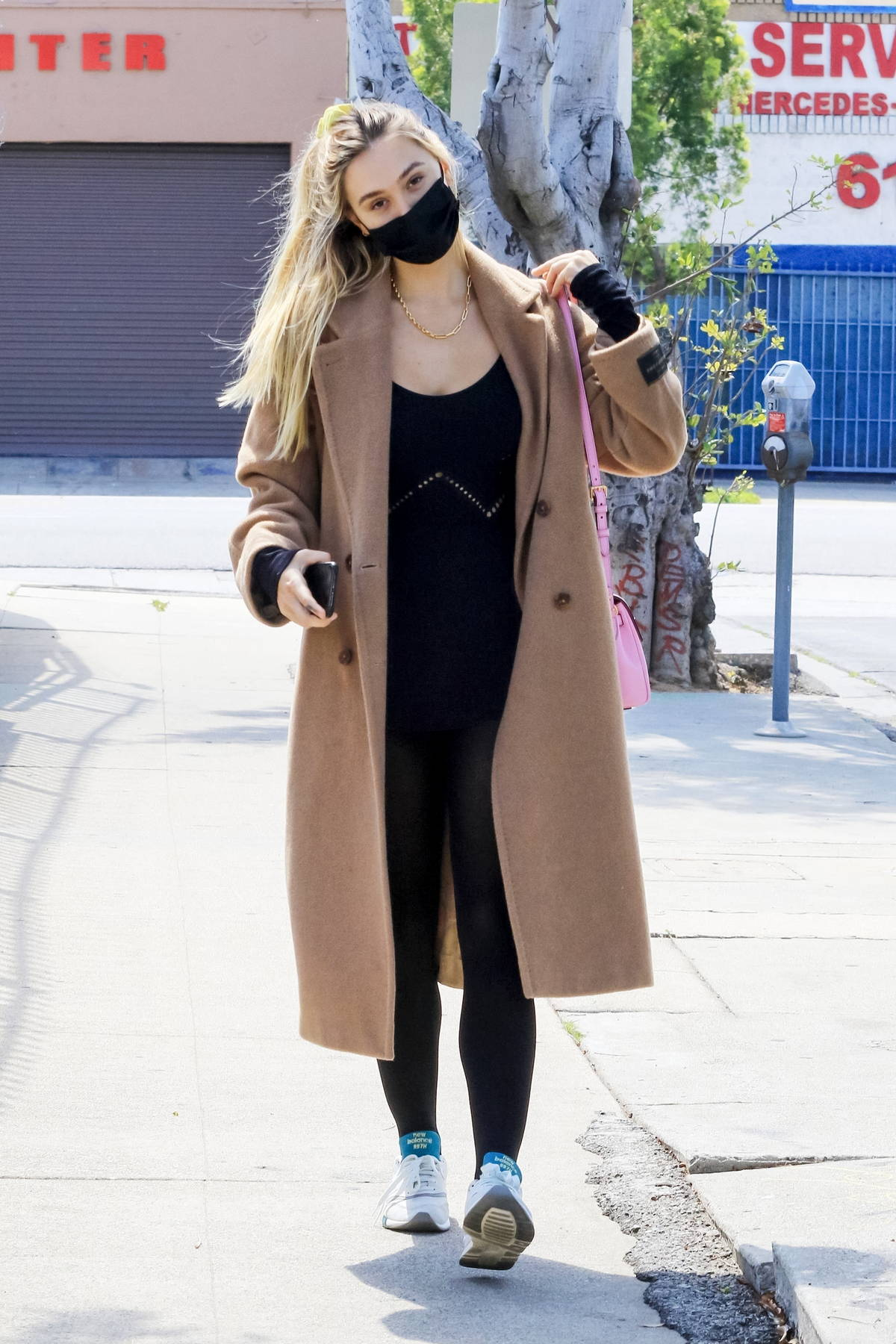 Alexis Ren looks great in her black ballet outfit while attending a ballet class in Los Angeles