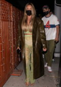 Anastasia Karanikolaou turns heads while stepping out at the Nice Guy in West Hollywood, California