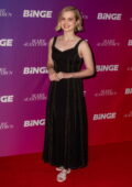 Angourie Rice attends the premiere of 'Mare of Easttown' at Cremorne Orpheum in Sydney, Australia