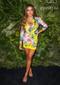 Anitta attends Inter Miami CF Season Opening Party at the Goodtime Hotel in Miami, Florida