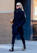 Anya Taylor-Joy looks sharp in all-black as she steps out for coffee in SoHo, New York
