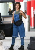 Camila Cabello grabs coffee with her parents before arriving at the airport to catch a flight out of Coral Gables, Florida