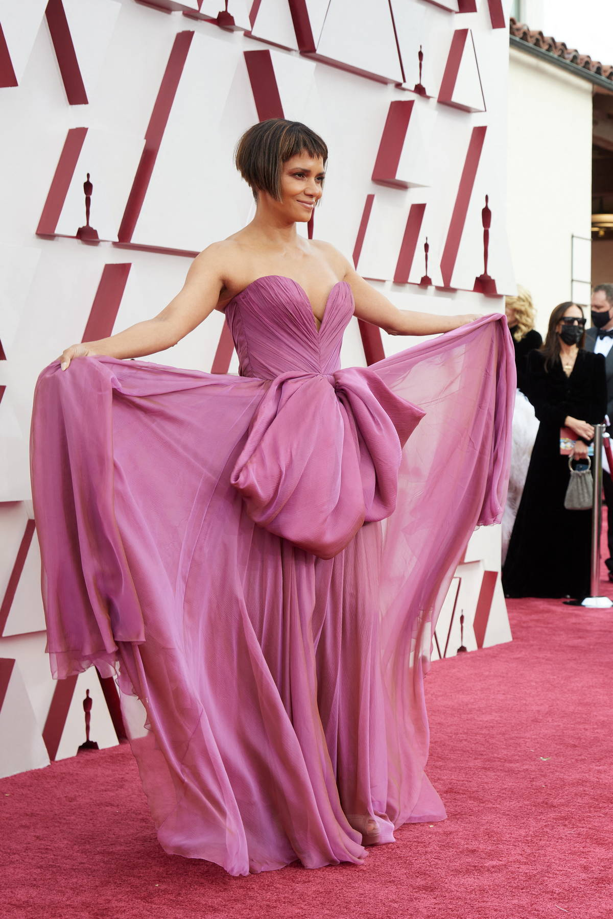 Halle Berry attends the 93rd Annual Academy Awards at Union Station in Los Angeles