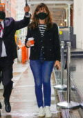 Jennifer Garner steps out on her 49th birthday to do some shopping with friends at Sarabeth's in New York City