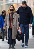 Jennifer Lawrence and Cooke Maroney stepped out for lunch in New York City