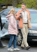 Jessica Chastain and Eddie Redmayne spotted on the set of 'The Good Nurse' in Stamford, Connecticut
