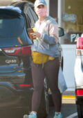 Katy Perry steps out wearing 'MAMA' hat in Montecito, California