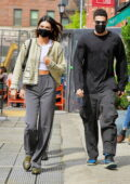 Kendall Jenner and Devin Booker grab lunch together at Bar Pitti in New York City