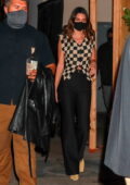 Kendall Jenner looks stylish as she steps out for dinner at Craigs in West Hollywood, California