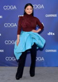 Lana Condor attends the 23rd Costume Designer Guild Awards in Los Angeles