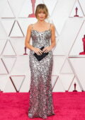 Margot Robbie attends the 93rd Annual Academy Awards at Union Station in Los Angeles