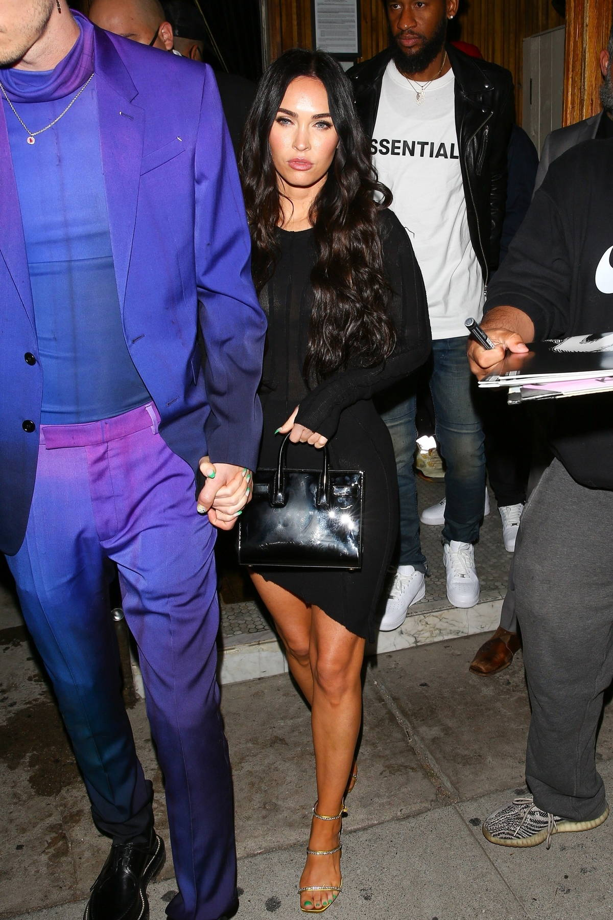 Megan Fox looks stunning while attending an event with Machine Gun Kelly at The Nice Guy in West Hollywood, California
