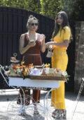Miranda Kerr and Kate Hudson seen together promoting KORA organics goodies in Los Angeles