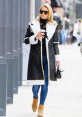 Nicky Hilton looks chic and warm while out in Soho running errands in New York City