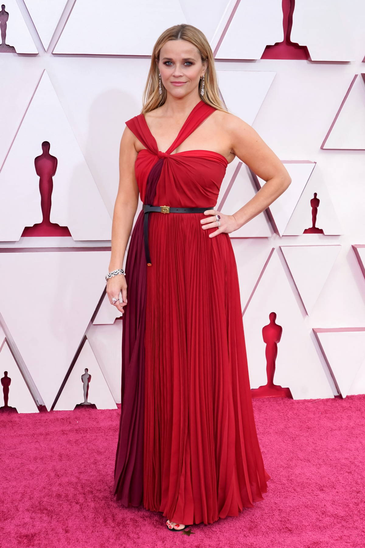Reese Witherspoon attends the 93rd Annual Academy Awards at Union Station in Los Angeles