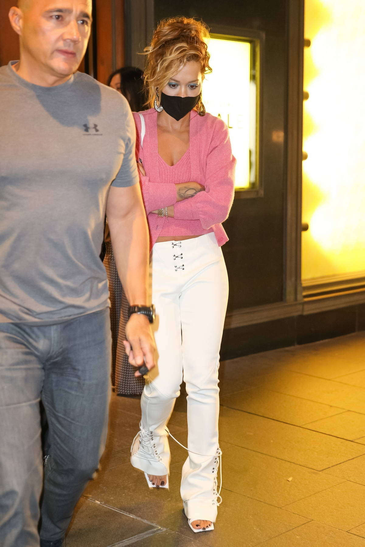Rita Ora, Isla Fisher, Elsa Pataky, and Tessa Thompson seen leaving David Jones Department Store in Sydney, Australia