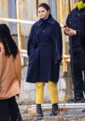Selena Gomez continues filming on the set of 'Only Murders In The Building' in New York