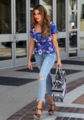 Sofia Vergara showcases her curves as she arrives for America's Got Talent taping in Los Angeles