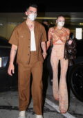 Sophie Turner and Joe Jonas step out for dinner at Craig's in West Hollywood, California
