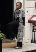 Tallia Storm arrives at Sketch London for Maizon Margiela magazine campaign shoot in London, UK