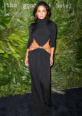 Vanessa Hudgens attends Inter Miami CF Season Opening Party at the Goodtime Hotel in Miami, Florida